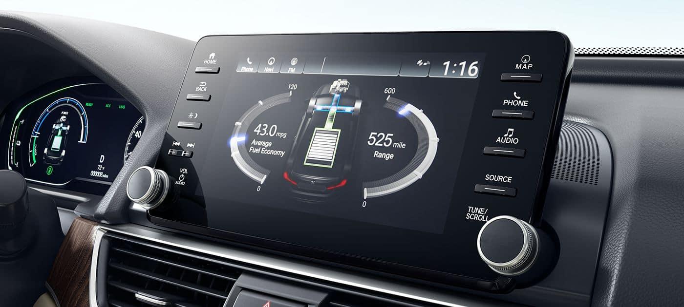 2018 Honda Accord Hybrid Energy Managment