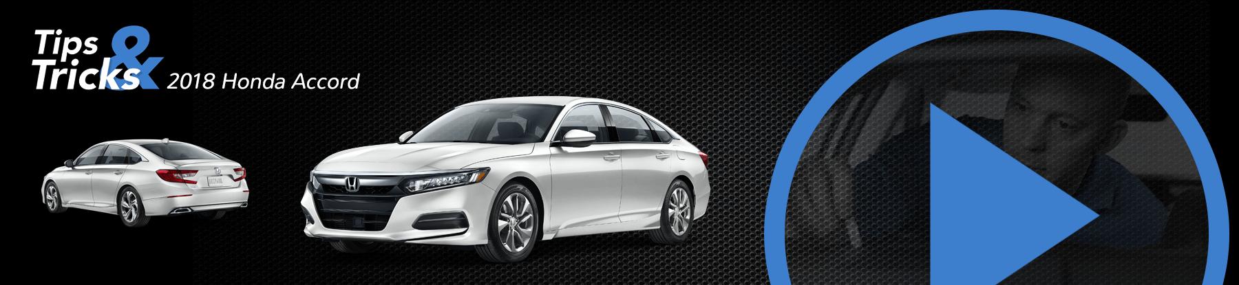 2018 Honda Accord Tips and Tricks