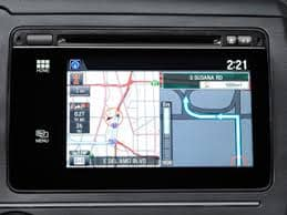 Honda navigation screen