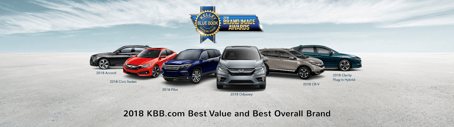 Honda KBB Awards Slider