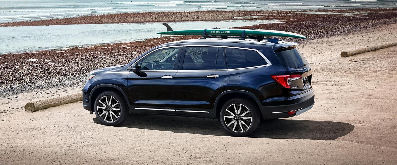 2019 Honda Pilot Exterior Driver Side Beach