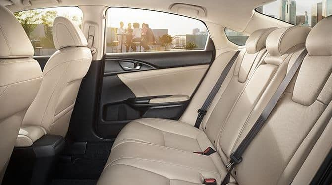2019 Honda Insight Back Seats