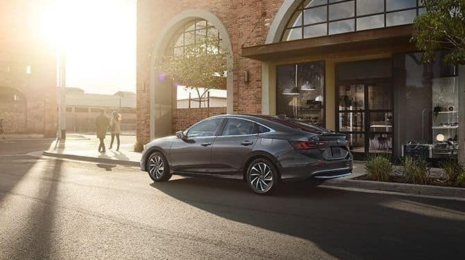 2019 Honda Insight Silver Sunset