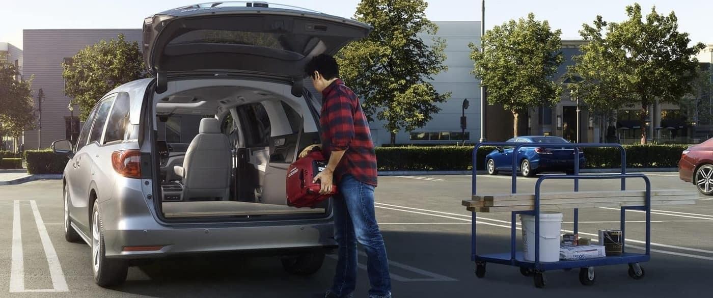 2019 Honda Odyssey Trunk Cargo Space