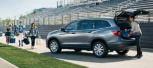2019 Honda Pilot AWD Exterior Rear Angle Power Tailgate