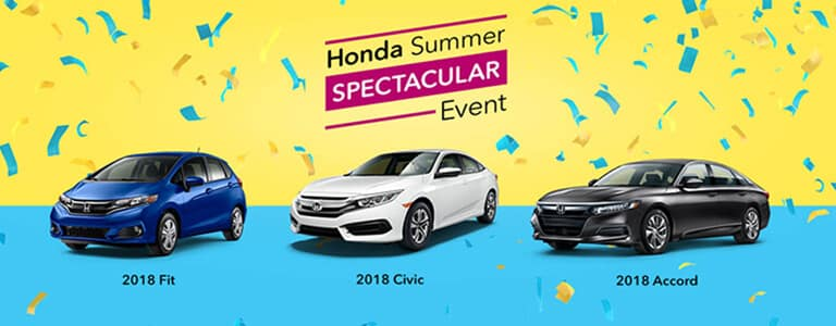 Honda Summer Spectacular Event at your Mid-Michigan Honda Dealers