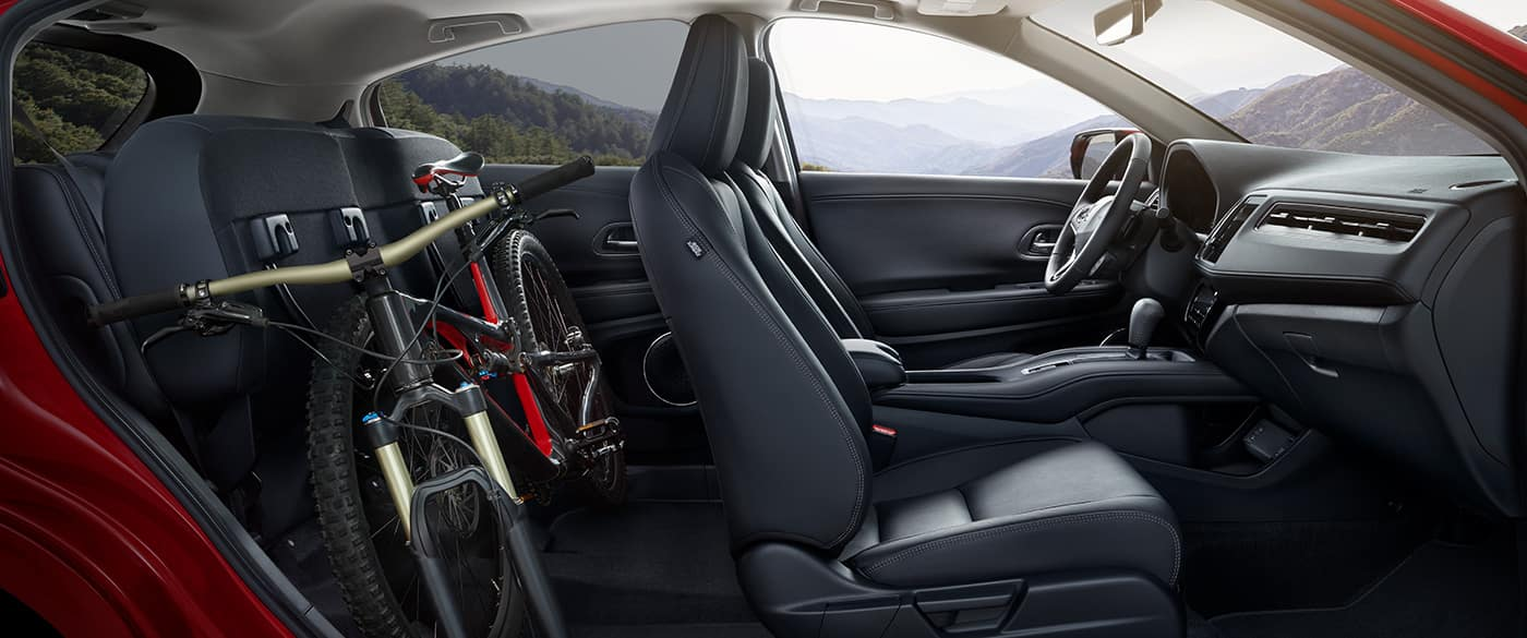 2019 Honda HR-V Folded Back Seats