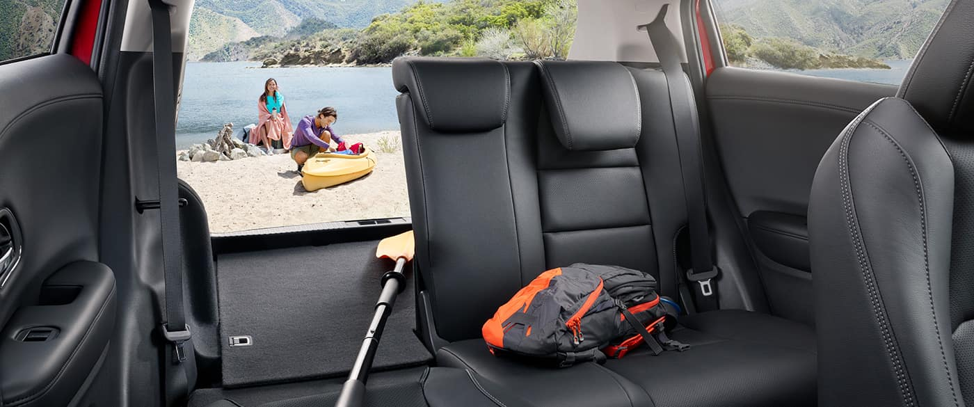 2019 Honda HR-V On A Lake