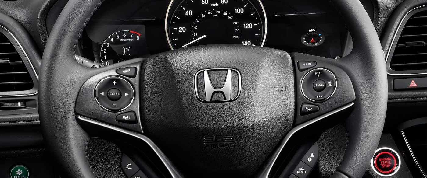 2019 Honda HR-V Steering Wheel Controls