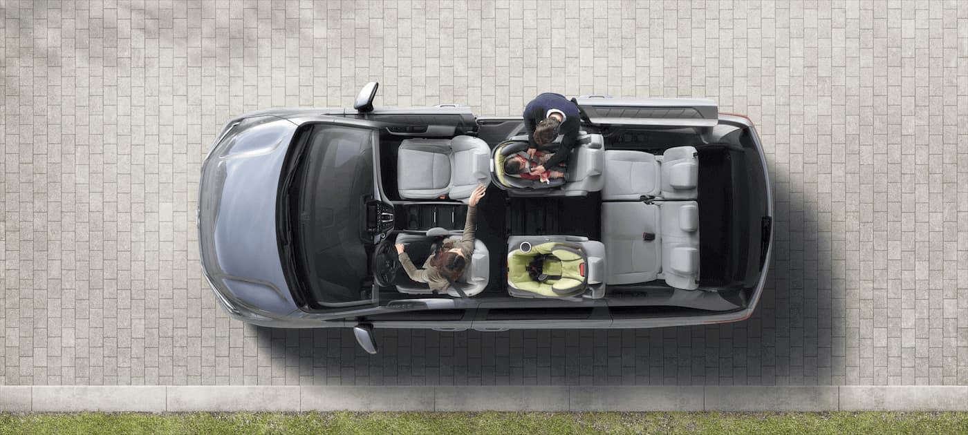 2019 Honda Odyssey Birds Eye Seating