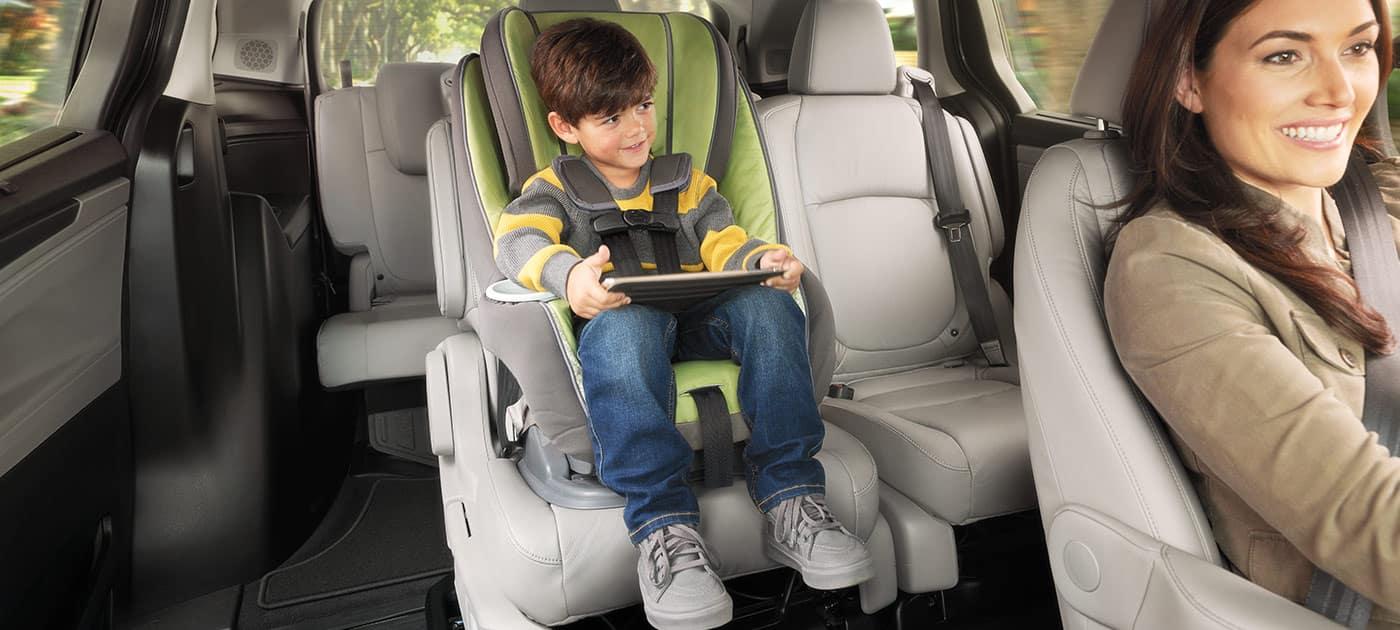 2019 Honda Odyssey Child In Safety Seat