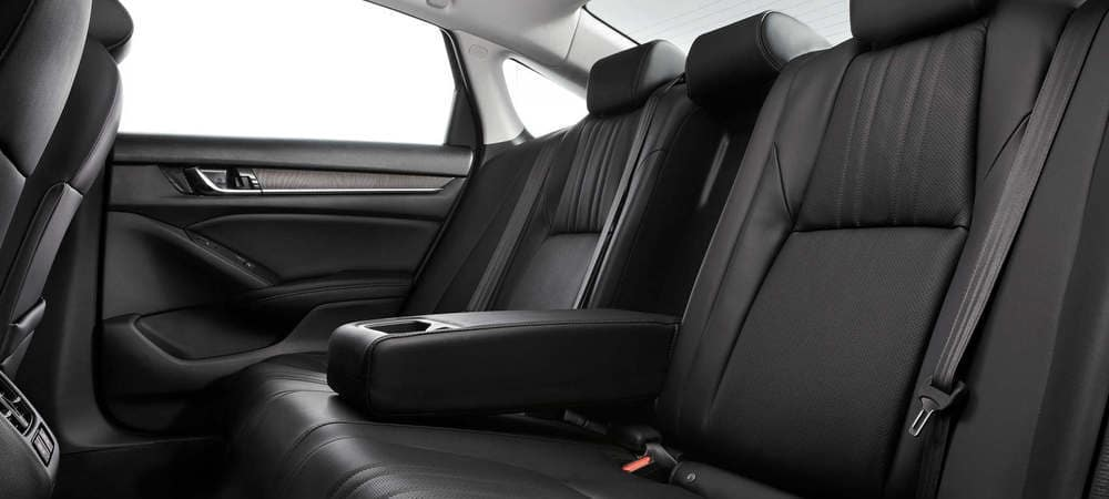 2019 Honda Accord Back Seats