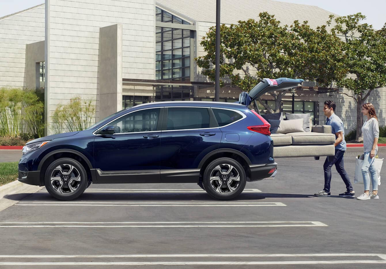 2019 Honda CR-V AWD Exterior Side Profile Open Hatch