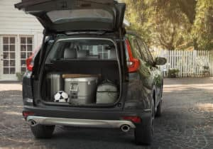 2019 Honda CR-V AWD Interior Open Hatch Cargo Space