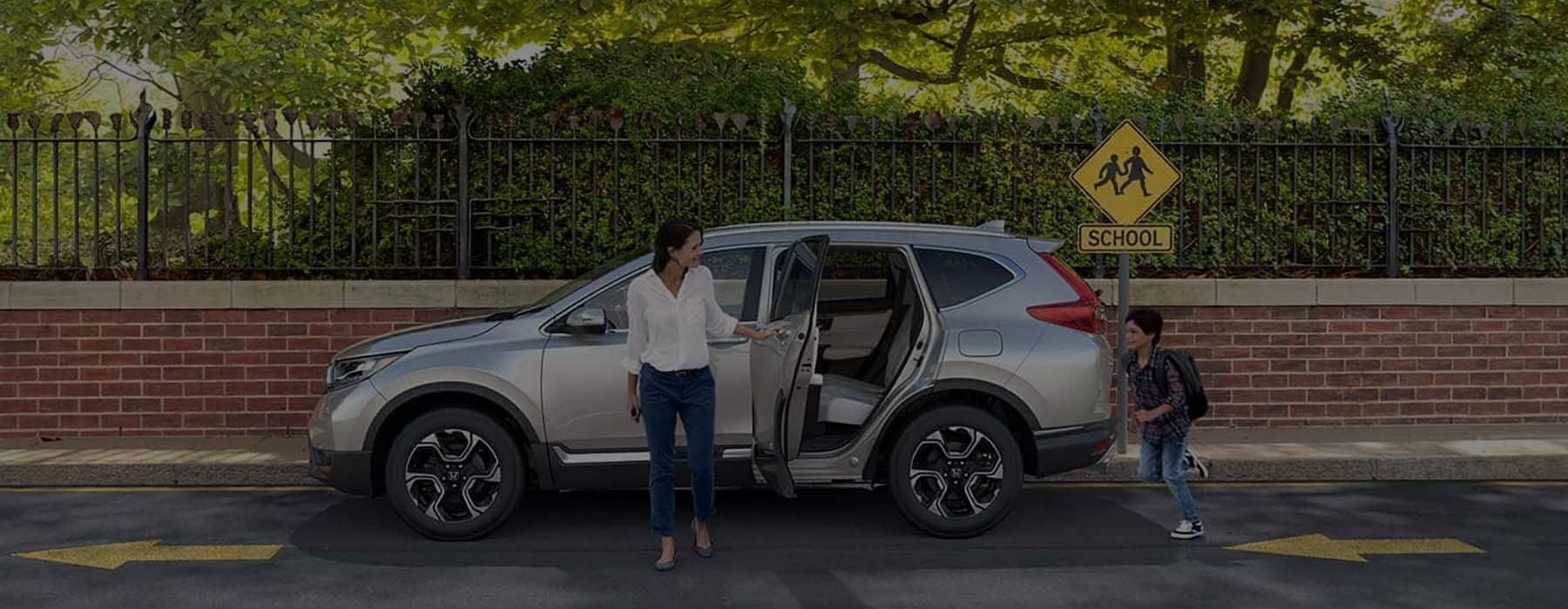 2019 Honda CR-V At School Crossing