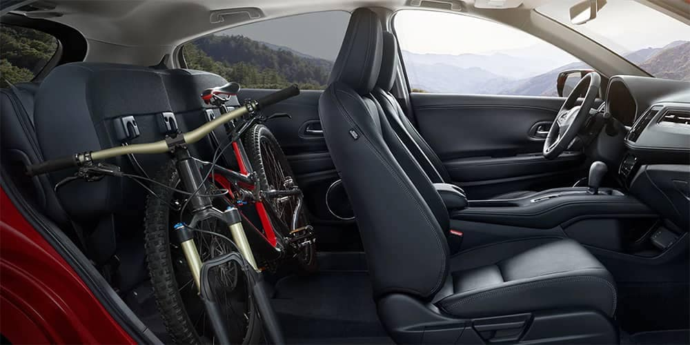 2019 Honda HR-V With Bike