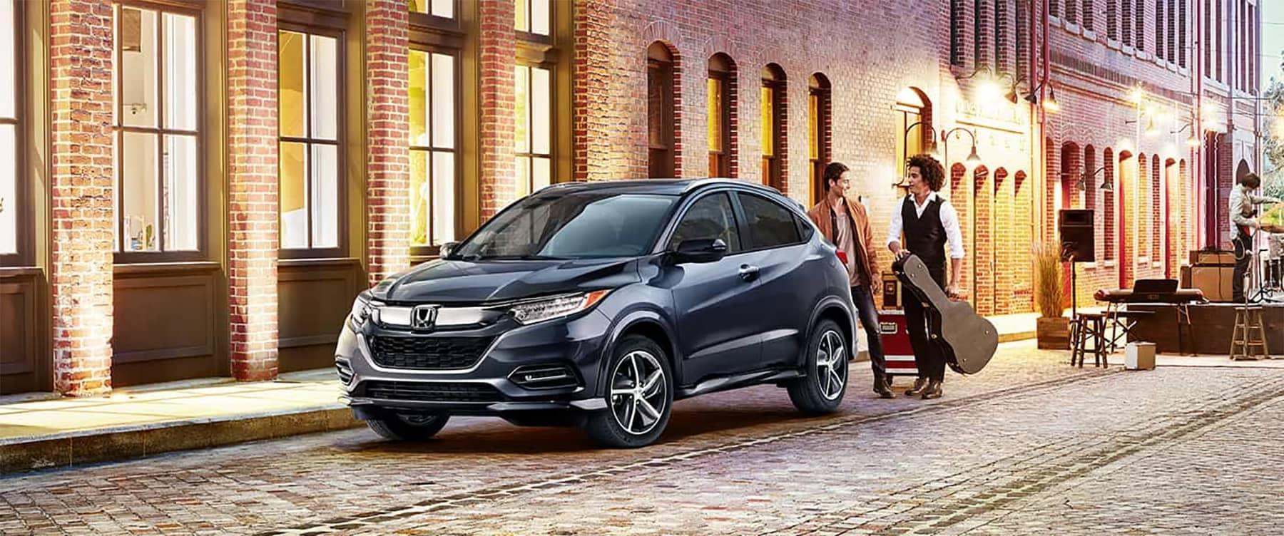2019 Honda Hr-V Parked