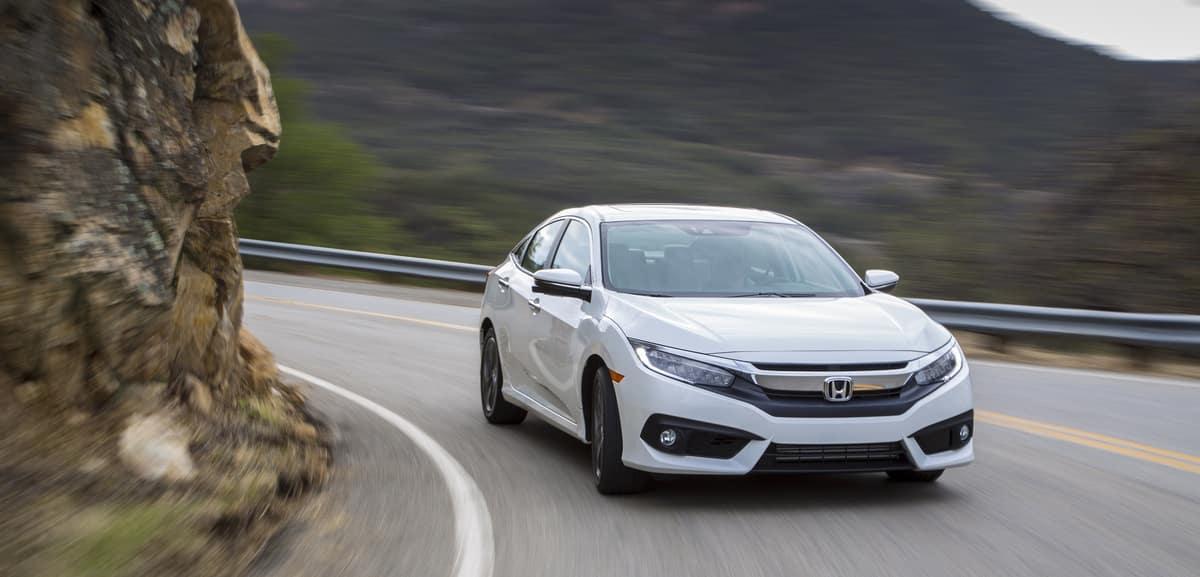 Honda Civic Sedan on highway