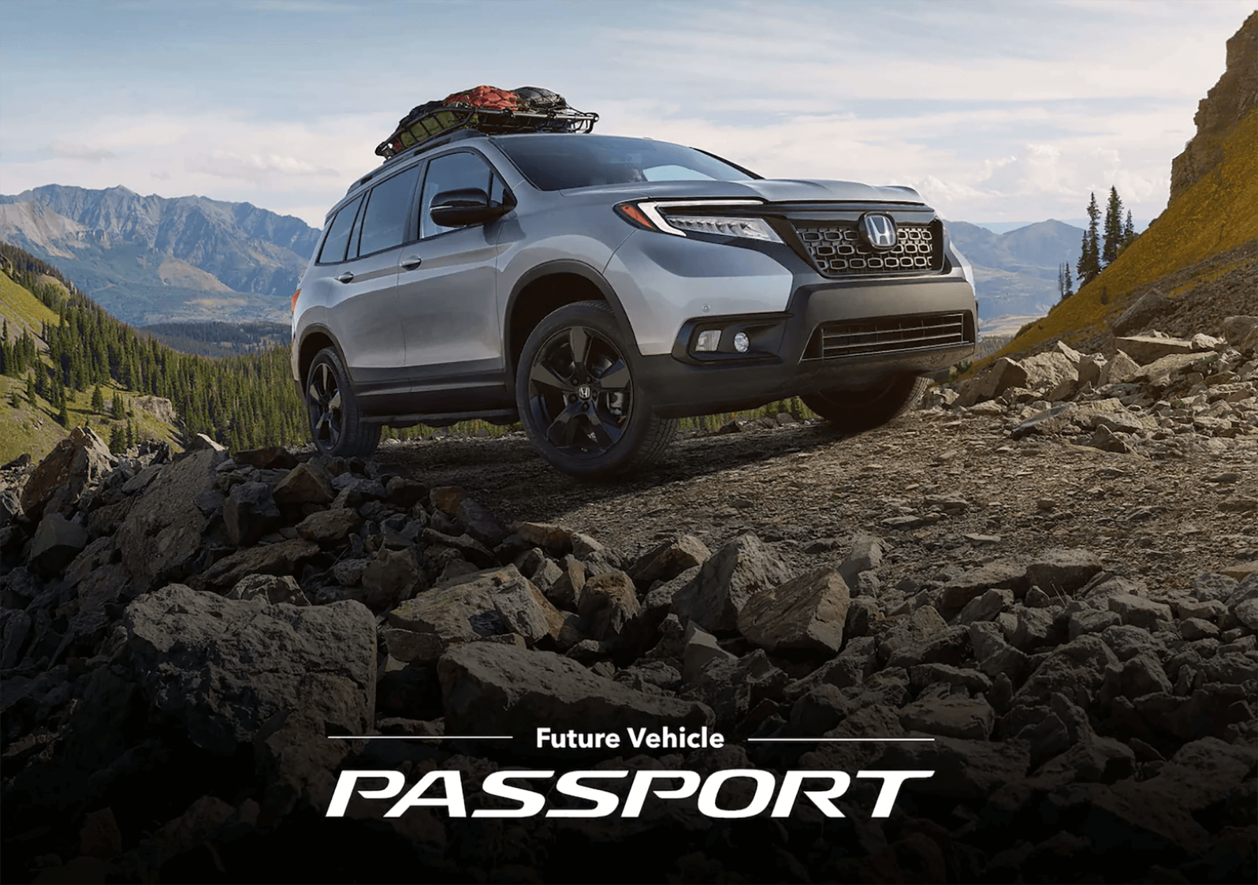 2019 Honda Passport Banner