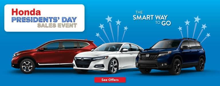 Mid-Michigan Honda Presidents' Day Sales Event
