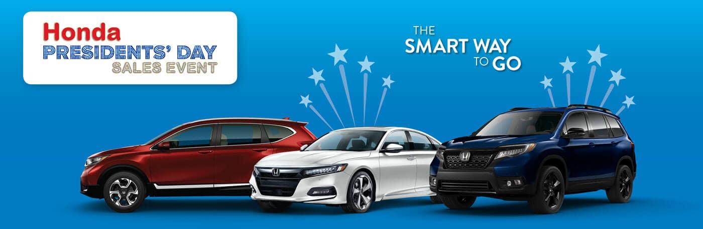 Mid-Michigan Honda Presidents' Day Sales Event