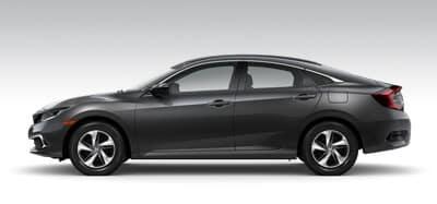 Honda Civic Sedan Models Page Button