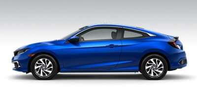 Honda Civic Coupe Models Page Button