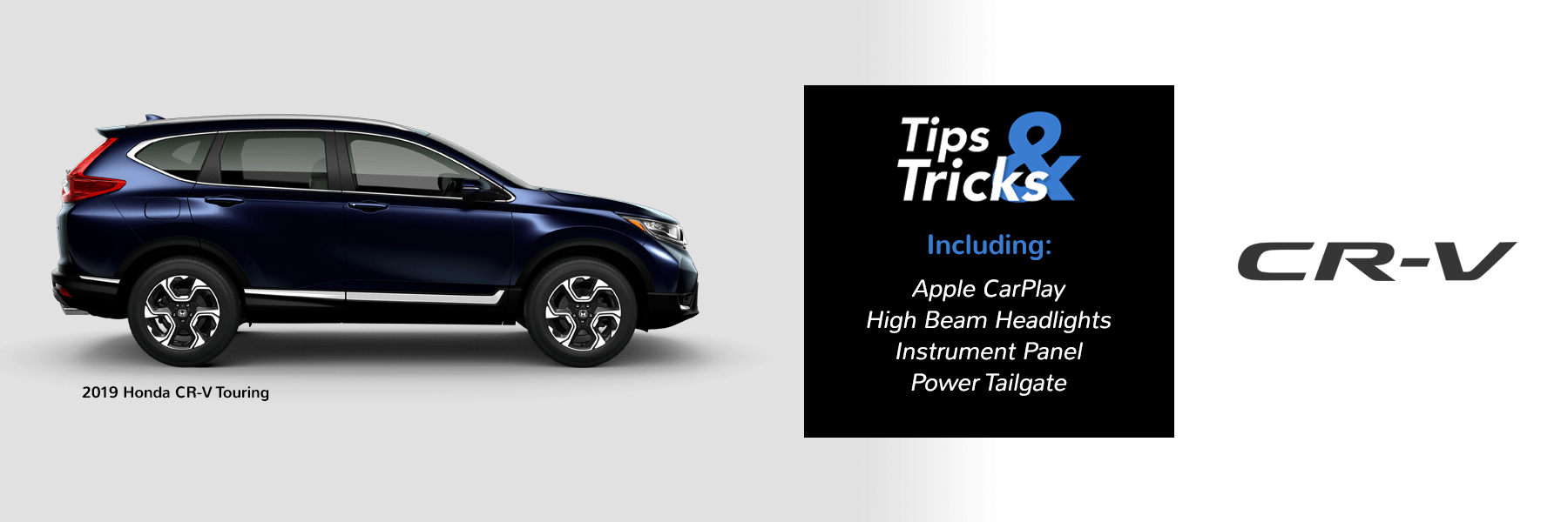 Honda Tips and Tricks 2019 CR-V Slider