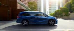 2020 Honda Odyssey Exterior Profile Passenger Side City Drive
