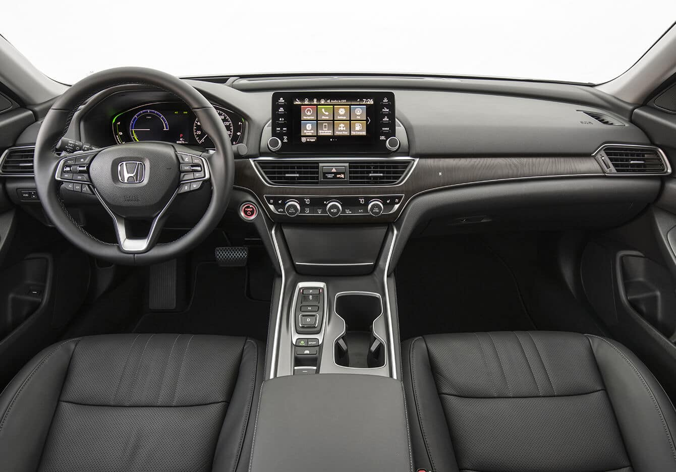 2020 Honda Accord Hybrid Interior Cockpit Overview