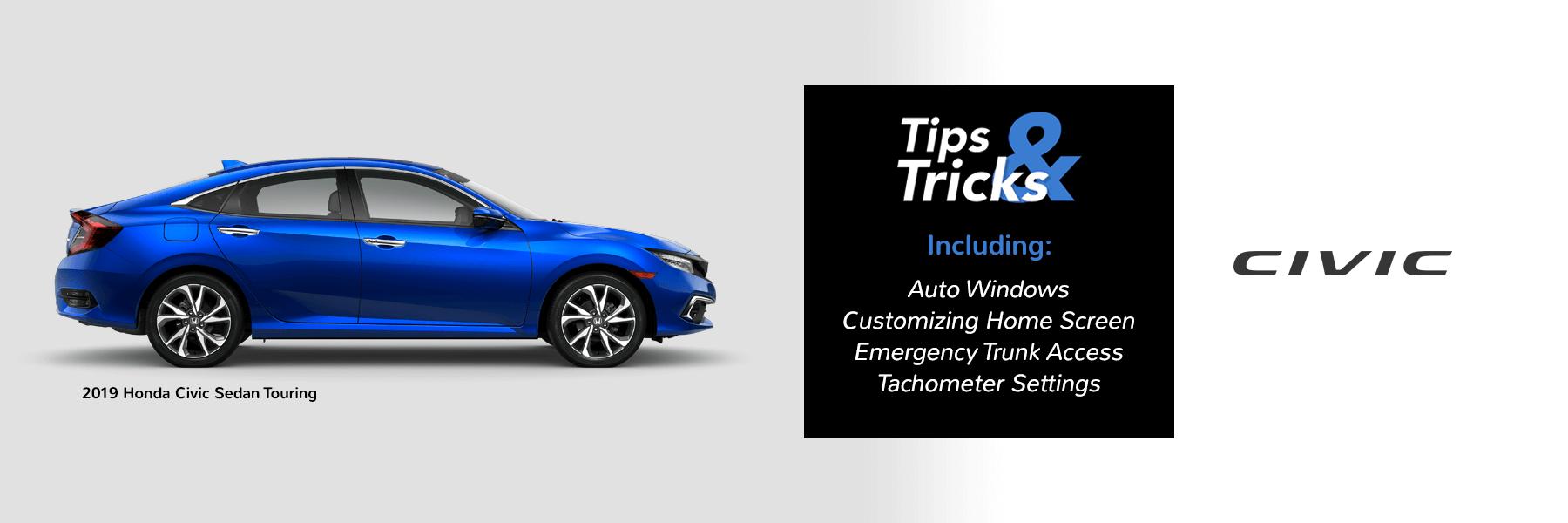 2019 Honda Civic Tips and Tricks Slider