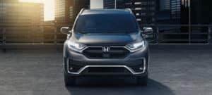 2020 Honda CR-V AWD Exterior Front Angle Daytime Running Lights