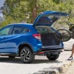 2020 Honda HR-V AWD Exterior Rear Angle Driver Side