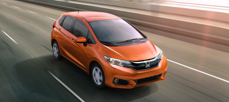 2020 Honda Fit Exterior Front Angle Passenger Side