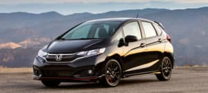 2020 Honda Fit Exterior Front Angle Driver Side