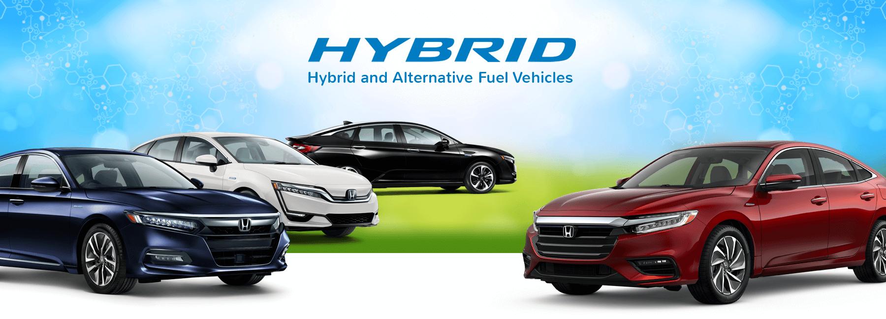 Honda Hybrid Cars Slider