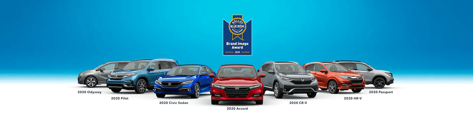 Honda Kelley Blue Book 2020 Brand Image Award Slider