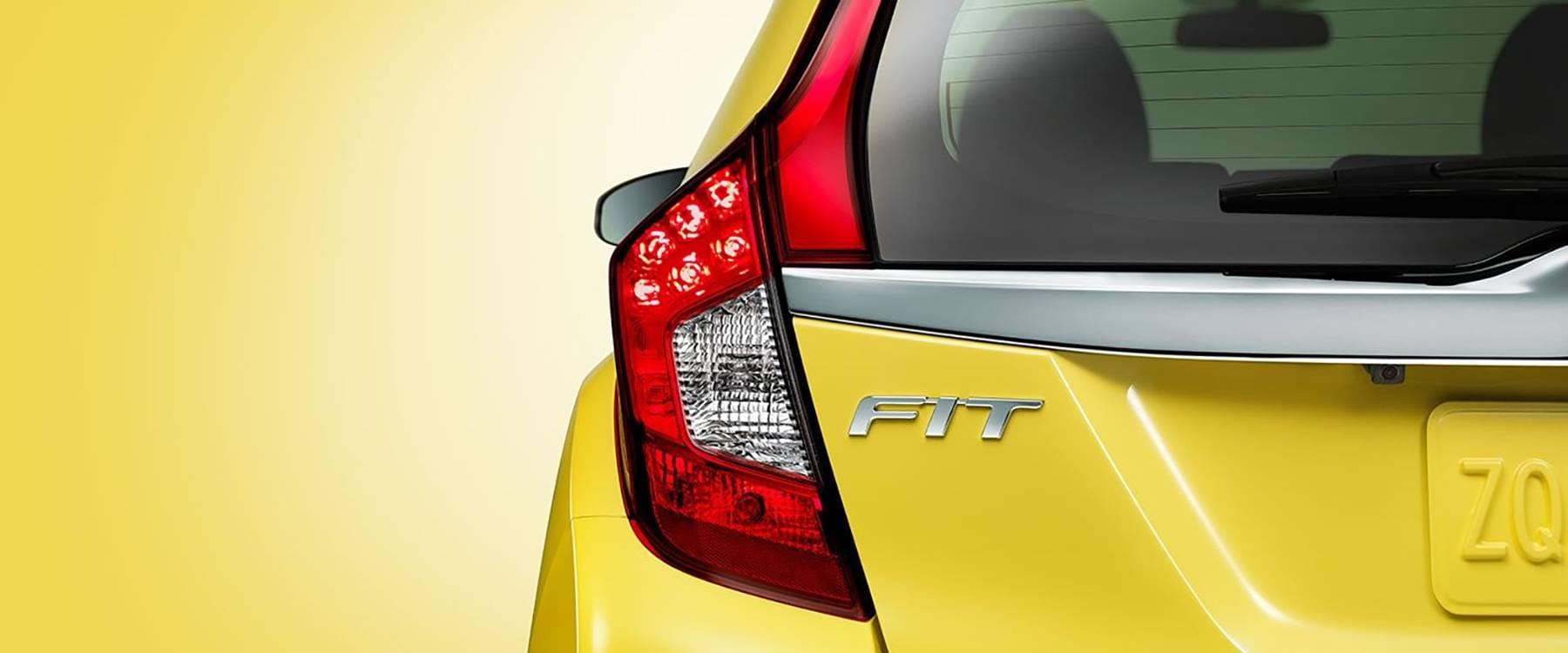 2017 Honda Fit Yellow