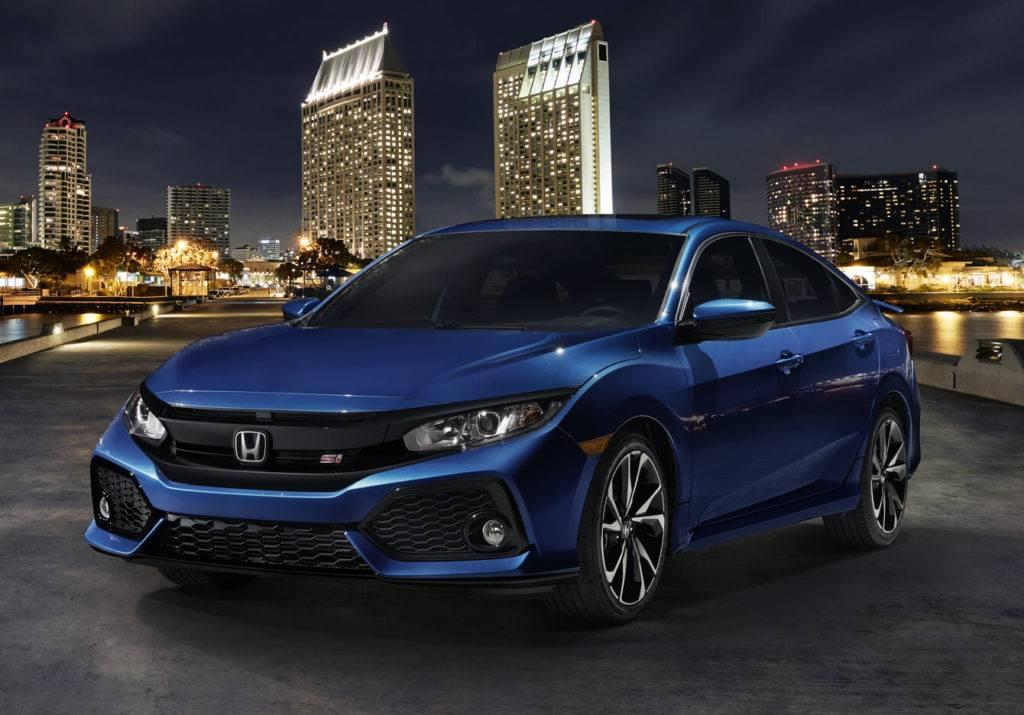 2017 honda civic si sedan mid missouri honda dealers for Honda civic si 2017 sedan
