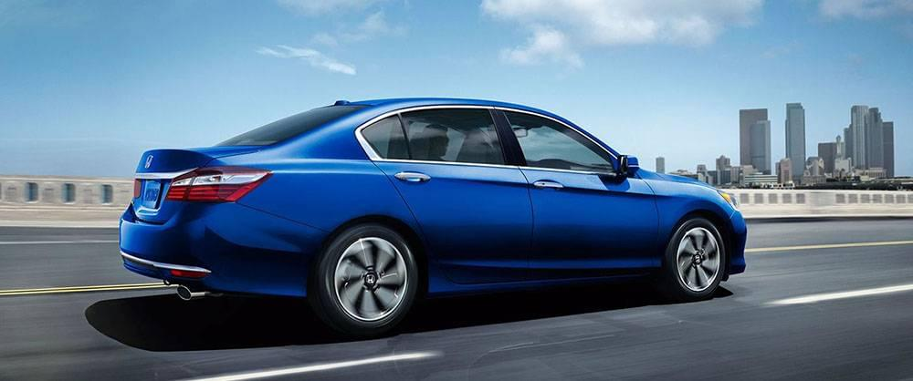 2017 Honda Accord EXL Blue