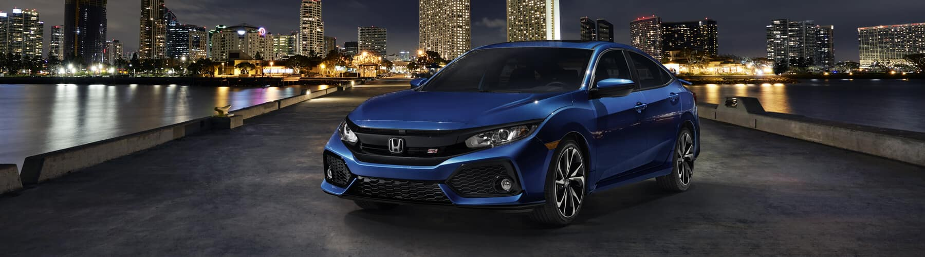 2018 Honda Civic Si Sedan Banner