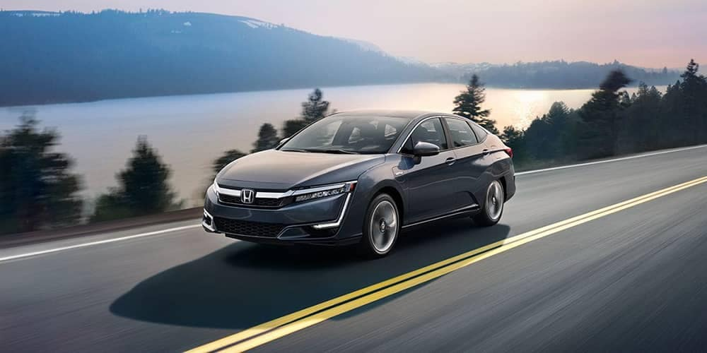 2018 Honda Clarity Driving