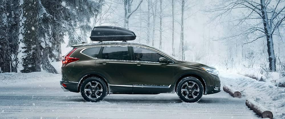 2018 Honda CR-V In Snow