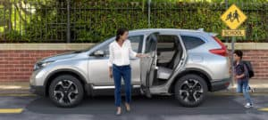2019 Honda CR-V Exterior Side Profile Family