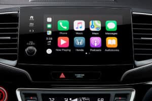 2020 Honda Pilot Interior Apple CarPlay