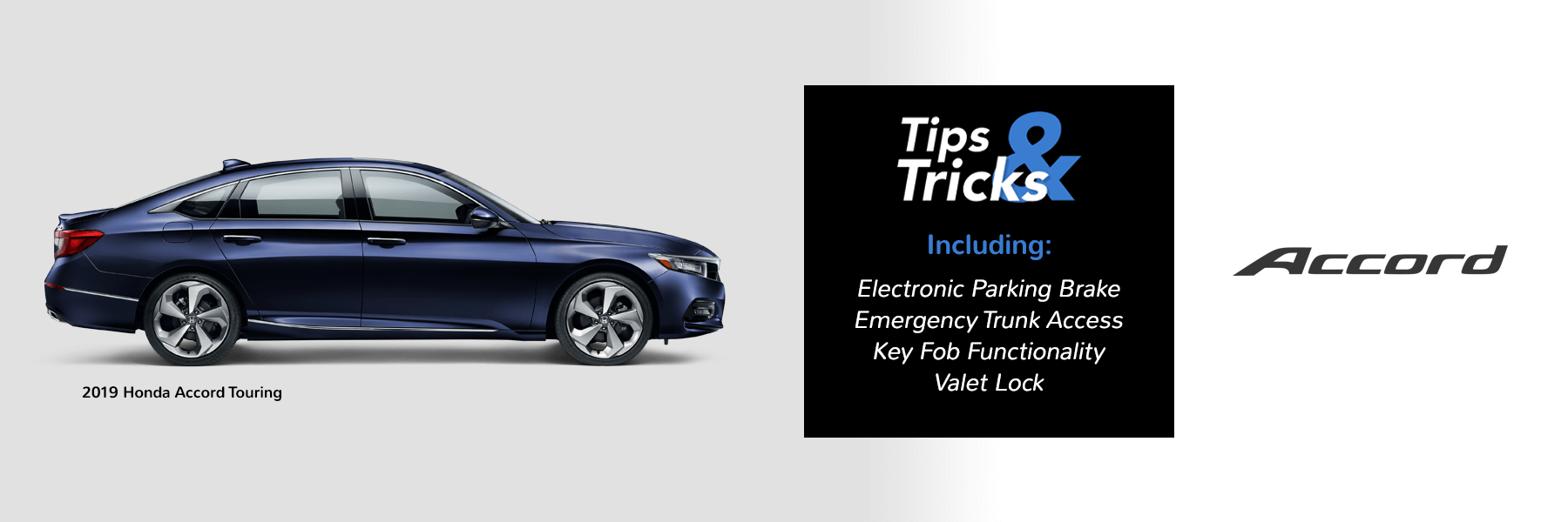 Honda Tips and Tricks 2019 Accord Slider
