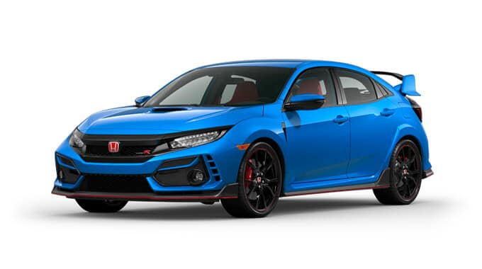 2020 Honda Civic Type R Boost Blue Pearl