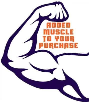 Added muscle to your purchase