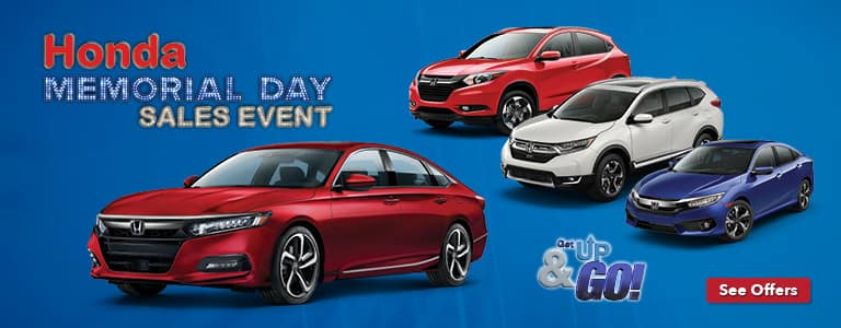 Metro Milwaukee Honda Memorial Day Sales Event