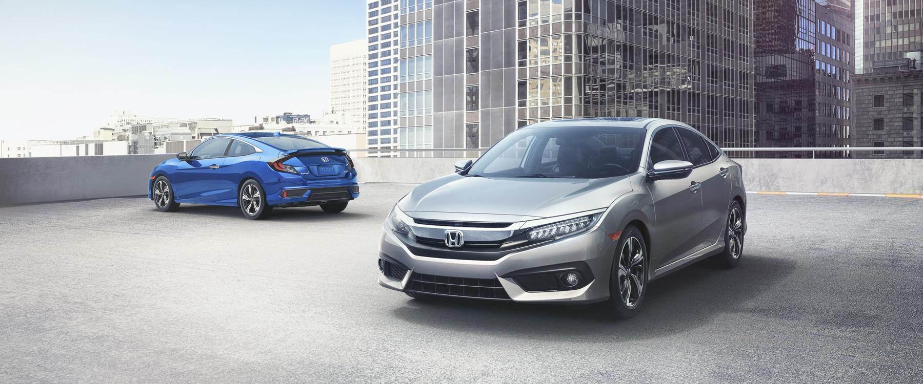 Shop the safest sedans at metro milwaukee honda dealers for Honda civic dealer